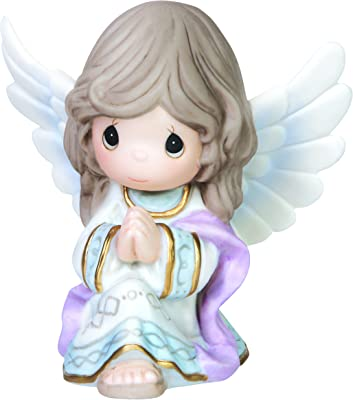 Precious Moments Praise to The New Born King Angel Figurine, 4-Inch