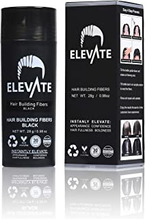 ELEVATE Hair Fibers 100% Natural Keratin Hair Fibers Instantly Thickens Thinning or..