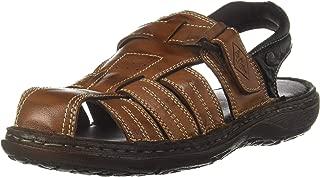 Lee Cooper Men's Leather Fisherman Sandals