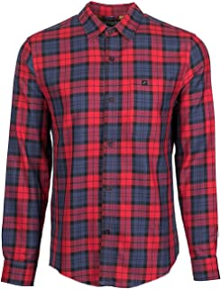 Men's Elli - Bruised Blue Flannel - Made in The USA