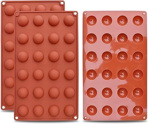 Rouge joyoldelf Moule Chocolat et Bonbon Ensemble de 4 Moule en Silicone en Forme de Fleurs Poissons Animaux Marins et du Soleil pour Faire Savon G/âteaux Muffin Gel/ée