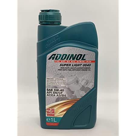 Addinol Super Light 5w 40 A3 B4 Motorenöl 1 Liter Auto