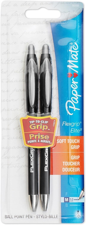 Paper Mate Comfortmate Kugelschreiber, Kugelschreiber, Kugelschreiber, einziehbar, mittlere Spitze, 5 Stück Nachfüllbar 2 Pack (schwarz Barrel) Schwarz B001CDCYP8 | Spielen Sie auf der ganzen Welt und verhindern Sie, dass Ihre Kinder einsam sind  e7ac78