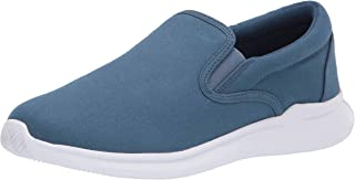 Propet Women's Finch Sneaker, Blue, 8.5 XX-Wide