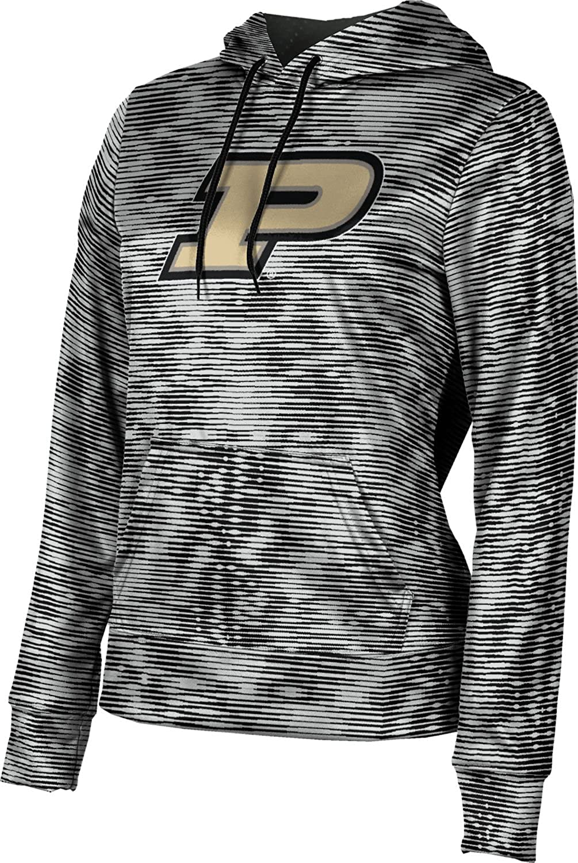 ProSphere Purdue University Girls' Pullover Hoodie, School Spirit Sweatshirt (Velocity) F9C02 Black and Light Gray