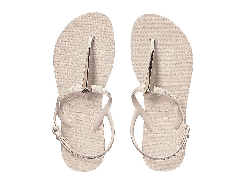 Havaianas Freedom SL Maxi Flip-Flops (Beige) Women
