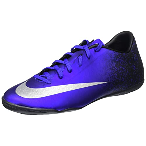 Nike Mens Mercurial Victory V CR IC Soccer Shoe Blue