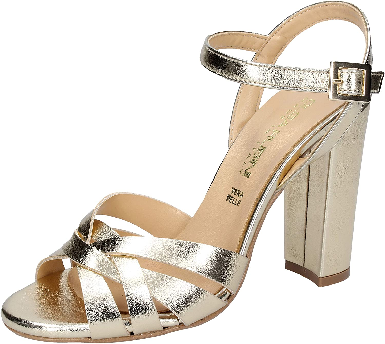 OLGA RUBINI Loafers-shoes Womens Silver
