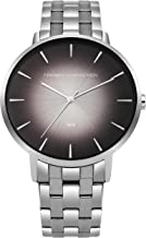 French Connection Men's Quartz Watch with Stainless-Steel Strap, Silver, 20 (Model: FC1306TM)