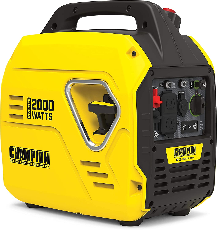 Champion: Power Equipment 2000-Watt Portable Inverter Generator! 9.00 (REG 9.99) at Woot!
