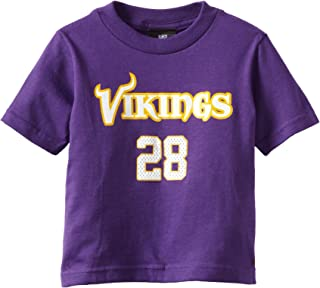 NFL Minnesota Vikings Adrian Peterson Toddler Primary Gear S/S Tee
