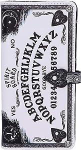 Nemesis Now White Spirit Board Embossed Ouija Purse, 18.5cm