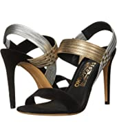 Salvatore Ferragamo - Suede Sandal With Heel