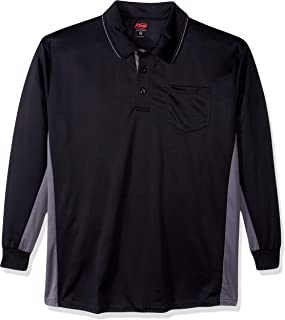 Adams USA MLB Style Long Sleeve Baseball Umpire Shirt - Sized for Chest Protector