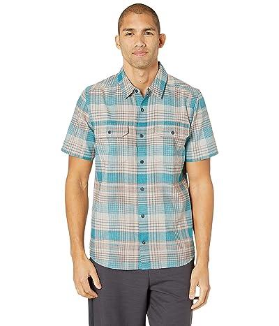 Toad&Co Hookline Short Sleeve Shirt (Riviera Blue) Men