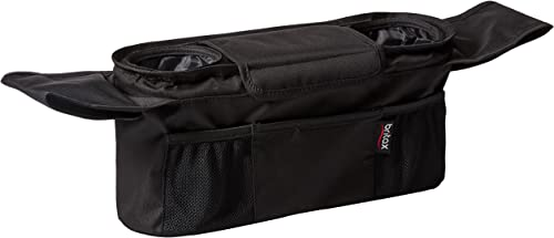 Britax Stroller Organizer with Insulated Cup Holders | Large Center Compartment with Magnetic Closure + 3 Outer Pocke...