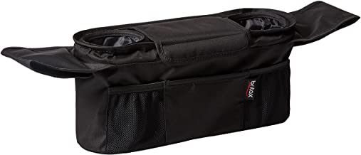 Best Britax Stroller Organizer with Insulated Cup Holders | Large Center Compartment with Magnetic Closure + 3 Outer Pockets + Folds with Stroller, No Removal Needed Review
