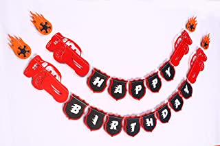 Seyal Cars 95 Banner - Birthday Decorations,Party Decorations,Party décor,Creative Decoration
