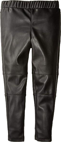 Always Faux Leather Leggings (Little Kids)