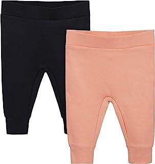Grow by Gerber Baby Girls Organic 2-Pack Pants