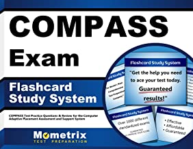 COMPASS Exam Flashcard Study System: COMPASS Test Practice Questions & Review for the Computer Adaptive Placement Assessment and Support System