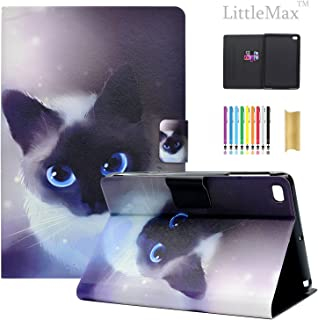 iPad Mini Case - LittleMax(TM) [Cards Holder] Ultra Slim Lightweight Thin PU Leather Stand Flip Case Cover with Auto Sleep/Wake for Apple iPad Mini 1/2/3/4-7.9 Inch -# Little Cat