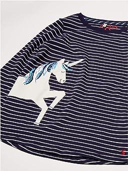 Silver Stripe Unicorn