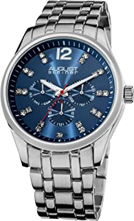 august steiner men's chronograph watch