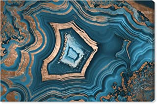 The Oliver Gal Artist Co. Abstract Wall Art Canvas Prints 'Dreaming About You Geode' Home Décor, 15
