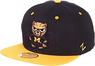 Zephyr NCAA Mens Harajuku Snapback Hat - Tokyodachi Collection