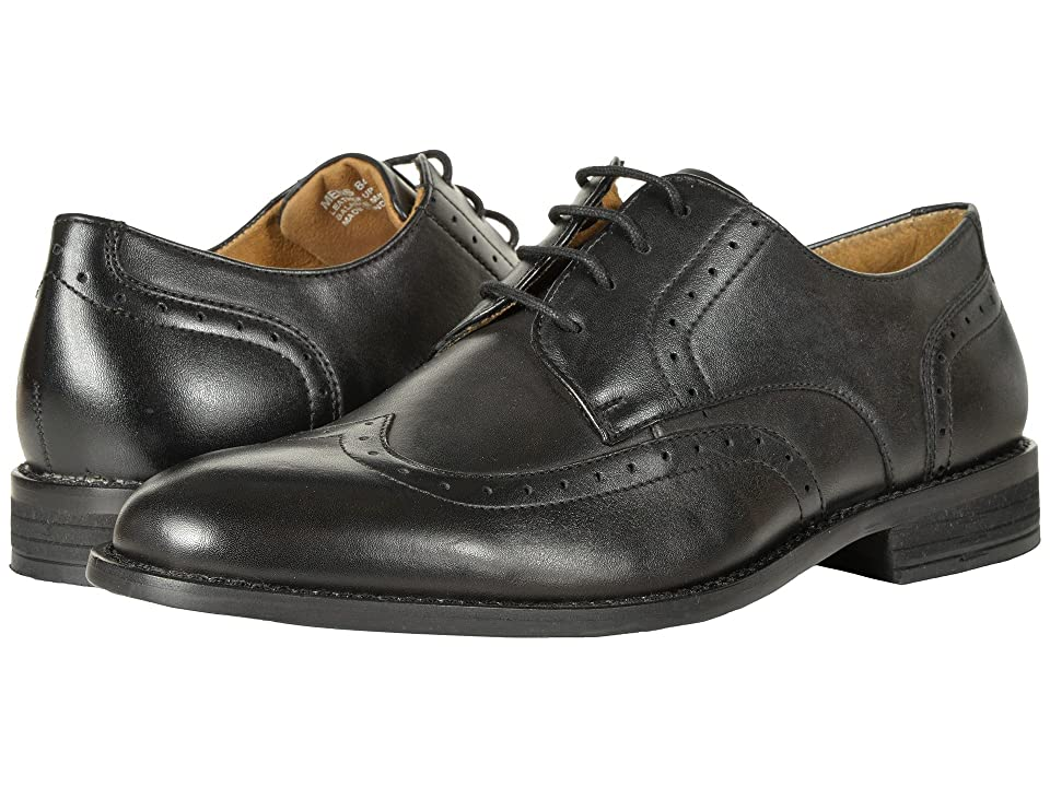 Nunn Bush Slate Wing Tip Dress Casual Oxford (Black) Men
