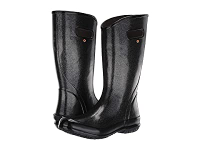 Bogs Rain Boot Glitter (Black) Women