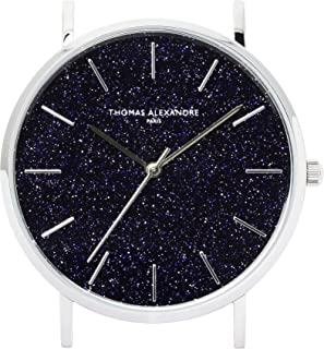 [Thomas Alexandre] Natural Stone Watch Blue Goldstone France Minimal Design Men's/Women's