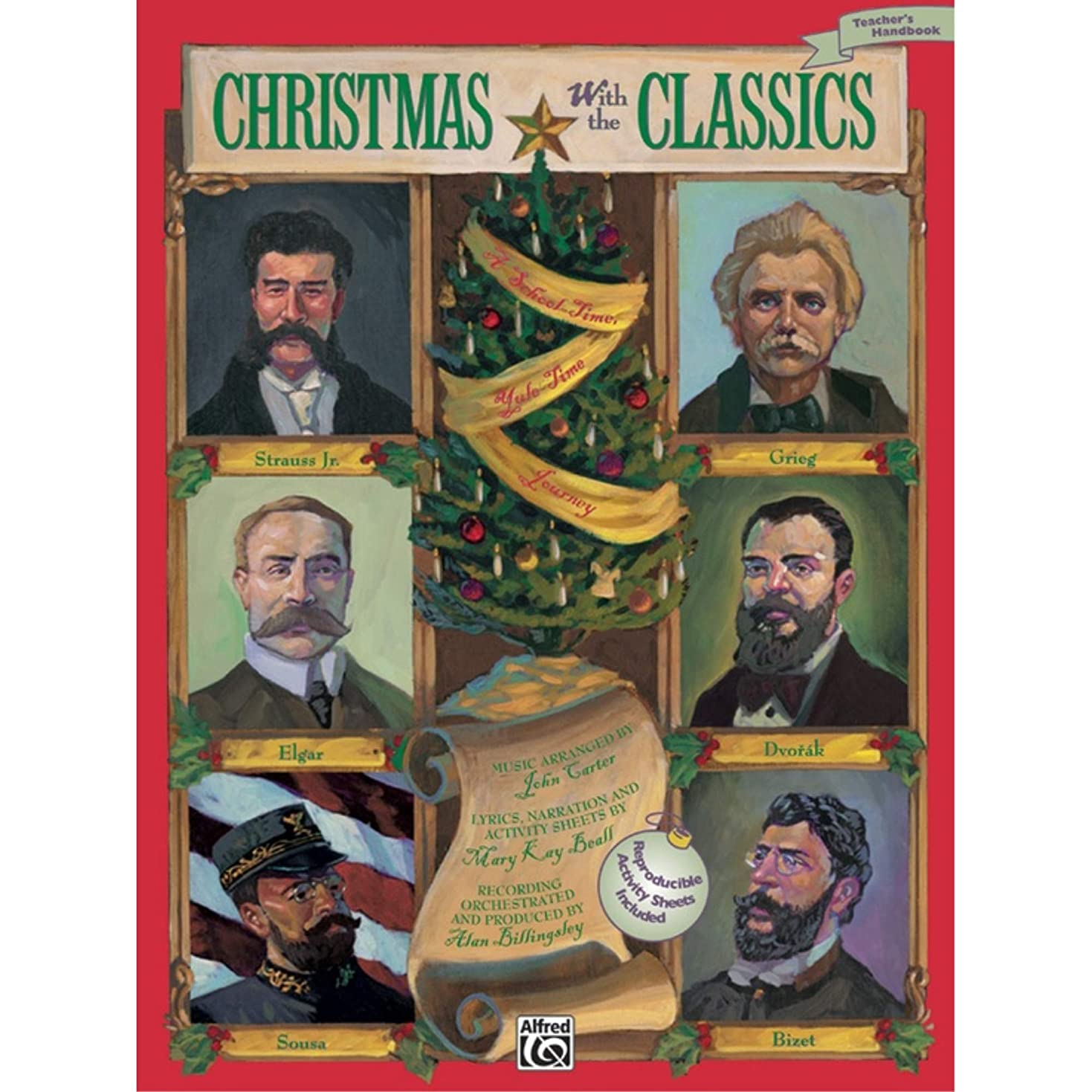 Alfred 00-16386 Christmas with the Classics - Music Book