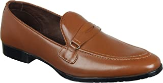 Franco Leone Tan Men's Formal Shoes
