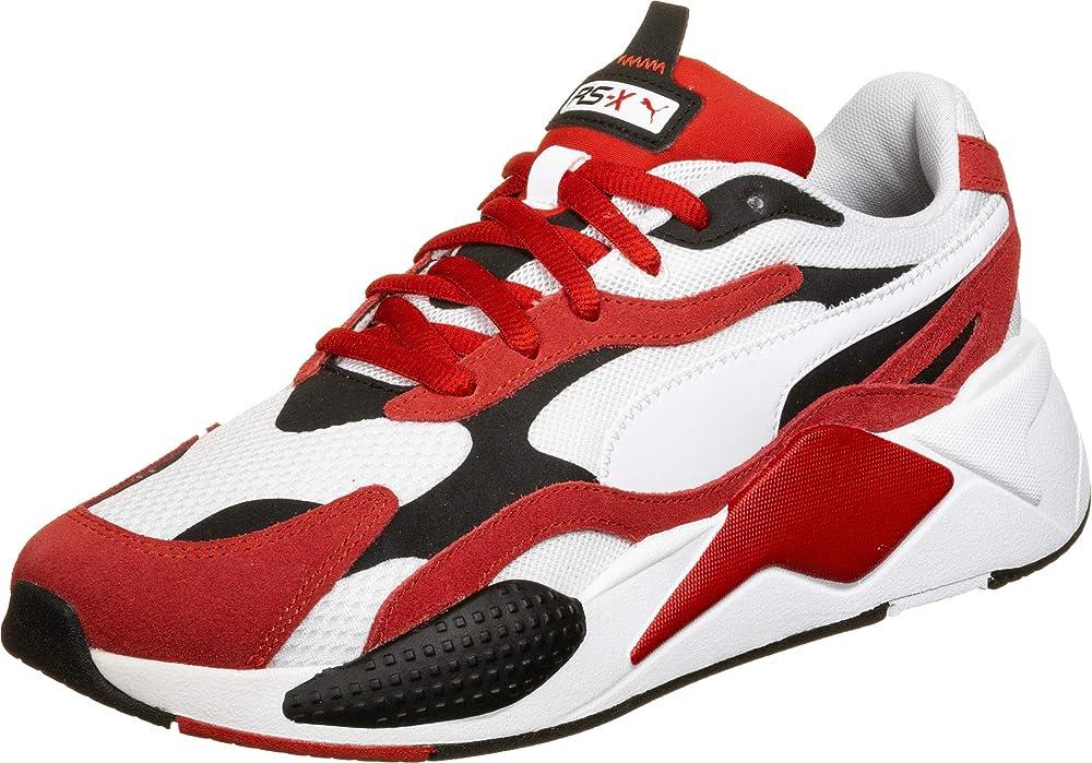 Puma rs-x3 sneakers ,scarpe sportive per uomo,in pelle scamosciata e tessuto 37288401