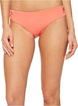 Roxy - Softly Love Reversible 70's Lace-Up Bikini Bottom