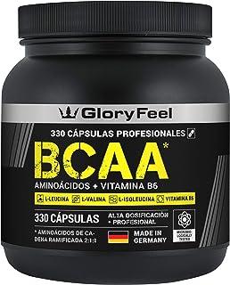 BCAA 330 Cápsulas – 9.910mg de BCAA por dosis diaria – Aminoácidos..