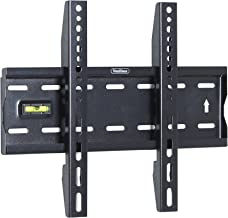"""VonHaus 15-42"""" Fixed TV Wall Mount Bracket with Built-In Spirit Level for LED, LCD, 3D, Curved, Plasma, Flat Screen Televisions - Super Strong 40kg Weight Capacity"""