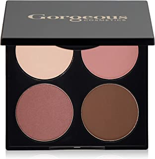 Gorgeous Cosmetics Romance Smokey Eyes Eyeshadow Palette for Women, 15.2g