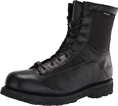"""Bates Men's 8"""" DuraShocks Waterproof Lace-to-Toe Work Boot"""