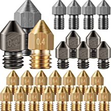 Sponsored Ad - Mk8 Nozzles 3D Printer Extruder Nozzles Hardened Steel, Stainless Steel, Brass Nozzle High Temperature Poin...