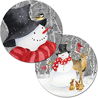 Best round snowman placemats Reviews