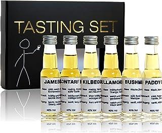 scotchbar Whiskey Einsteiger Tasting Set Whiskey aus Irland in edler Geschenkverpackung
