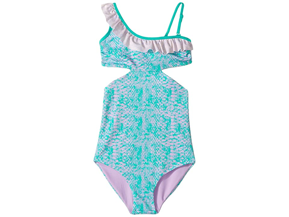 Bowie X James Cococolada One-Piece (Toddler/Little Kids/Big Kids) (Green) Girl