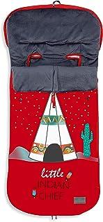 OFERTA - Color: Rojo Saco POLAR de Invierno de Silla de Paseo - Universal-Bugaboo-Mclaren