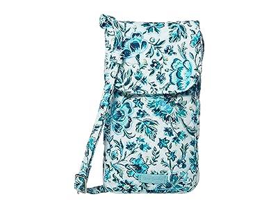 Vera Bradley Carson Cellphone Crossbody (Cloud Vine) Cross Body Handbags