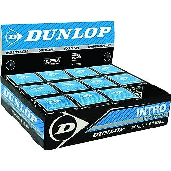 DUNLOP - Bola de squash para principiantes, caja de 12 bolas
