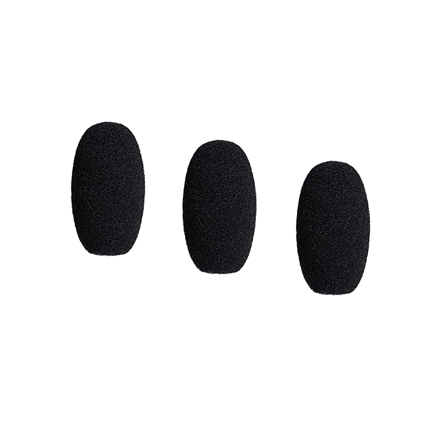 Audio-Technica AT8168 Microphone Windscreens for BPHS2C Broadcast Stereo Headset (3 Pack)