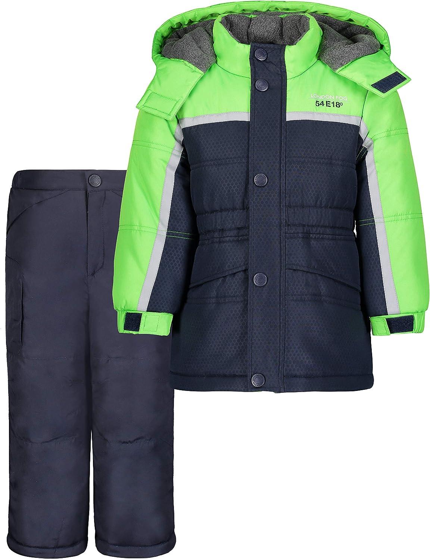 LONDON FOG Opening large release sale Baby Boys' Ski Pant Jacket famous Snowsuit 2-Piece